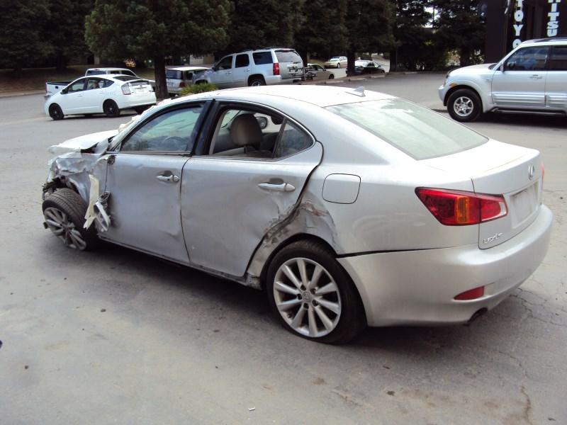 2009 Lexus Is250 Std Model 4 Door Sedan 2 5l V6 At Rwd