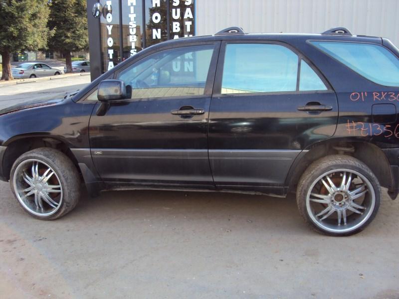 2001 lexus rx300 black interior