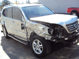 2006 LEXUS GX470 SUV 4.7L V8 AT 4WD COLOR SILVER STK Z13423