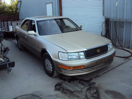 1996 LEXUS AVALON 4 DOOR SEDAN XLS MODEL 3.0L V6 AT FWD COLOR GRAY Z13509