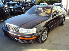 1991 LEXUS LS400, 4.0L AUTO 4DR, COLOR BROWN, STK Z14828