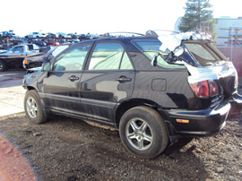 1999 LEXUS RX 300 SUV 3.0L AT AWD COLOR BLACK STK  Z12333