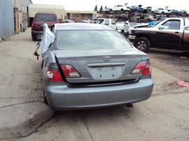2003 LEXUS ES300 4 DOOR SEDAN 3.0L AT COLOR GRAY STK Z12334