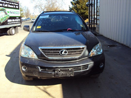 2006 LEXUS SUV RX400 HYBRID 3.3L V6 AT AWD COLOR BLACK STK Z13375