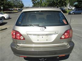 1999 LEXUS RX300, 3.0L AUTO AWD, COLOR GOLD, STK Z15955