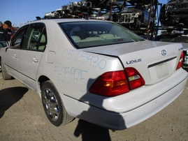 2003 LEXUS LS430 PEARL WHITE 4.3L AT 2WD Z15975
