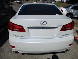 2006 LEXUS IS350 PEARL WHITE 3.5L AT Z16260