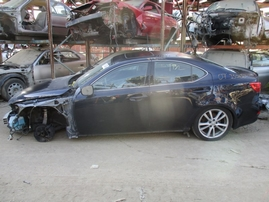 2007 LEXUS IS250 NAVY BLUE 2.5L AT Z16262
