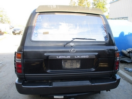 1997 LEXUS LX450 BLACK 4.5L AT 4WD Z17587
