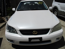 2002 LEXUS IS300 PEARL WHITE 3.0L AT Z16307