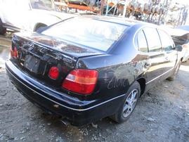 2000 LEXUS GS300 BLACK 3.0L AT Z15121