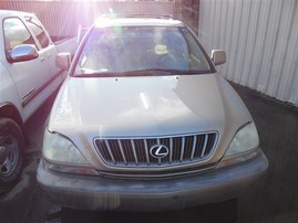 2002 LEXUS RX300 PREMIUM VALUE PKG GOLD 3.0 AT 4WD Z21341