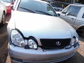 2002 LEXUS GS300 SILVER 3.0L AT Z19491