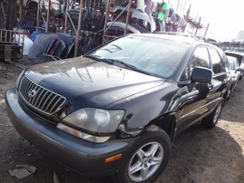 1999 LEXUS RX300 BLACK 3.0L AT 4WD Z17976