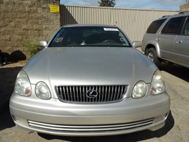 2001 LEXUS GS430 SILVER 4.3L AT 2WD Z17723