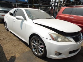 2010 LEXUS IS250 WHITE 2.5L AT Z18300