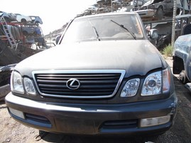 2001 LEXUS LX470 GRAY 4.7L AT 4WD Z18315
