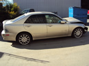 2004 LEXUS IS 300 4 DOOR SEDAN 3.0L IN LINE 6 AT/MT RWD COLOR GOLD Z13425