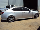 2007 LEXUS IS 250 2.5L AT RWD COLOR SILVER STK Z12267
