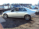 2002 LEXUS IS 300 4 DOOR SEDAN 3.0L MT  RWD COLOR SILVER STK Z12332